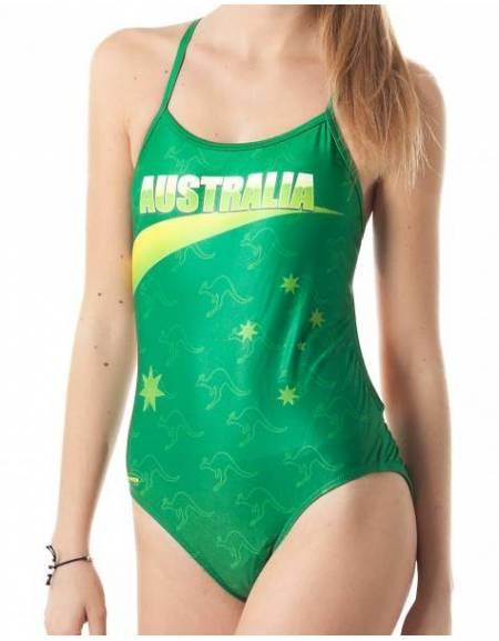 Costume allenamento donna Openback AUSTRALIA SwimmerWear
