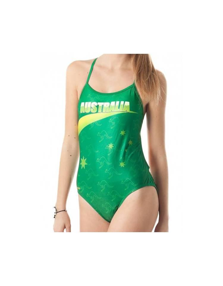 43ed871087e0 Costume allenamento donna Openback AUSTRALIA SwimmerWear