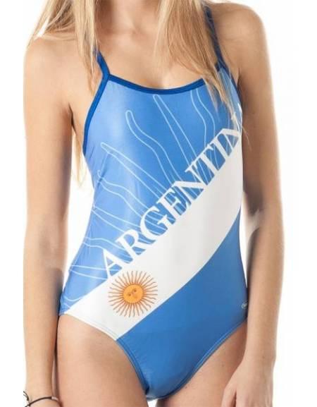 Costume allenamento donna Openback ARGENTINA SwimmerWear