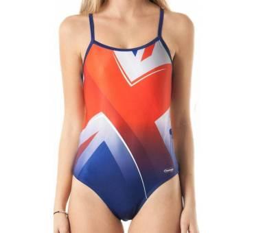 Costume allenamento donna Openback INGHILTERRA SwimmerWear