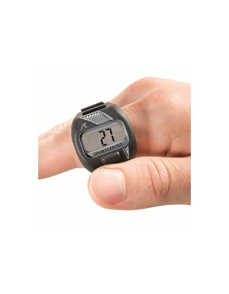 Contavasche digitale da dito per il nuoto Lapcounter grigio. Loading zoom a6132d861992
