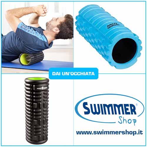 cilindro massaggio nuotatori
