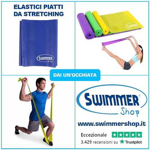 elastici stratching nuoto