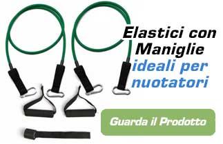 elastici con maniglie per nuotatori