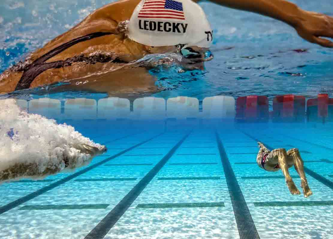Nuoto: due allenamenti, ipossico e Katie Ledecky
