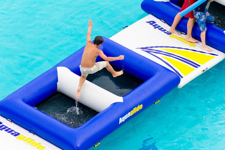 gioco gonfiabile piscina DELTA