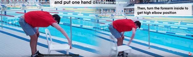 errori stile libero nuoto