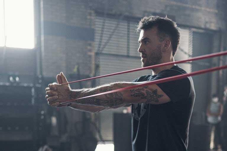 allenamenti spartani elastici training band