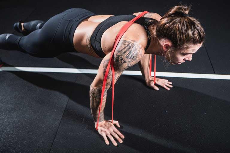 allenamento elastico fitness