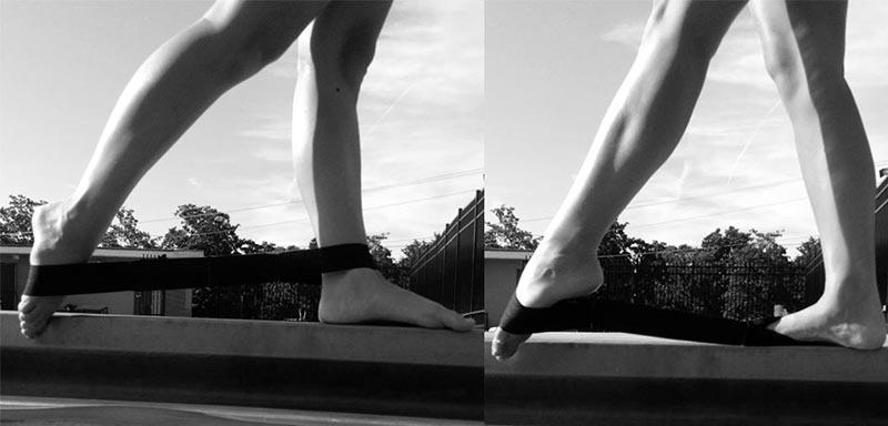 elastico allena palestra gambe nuoto