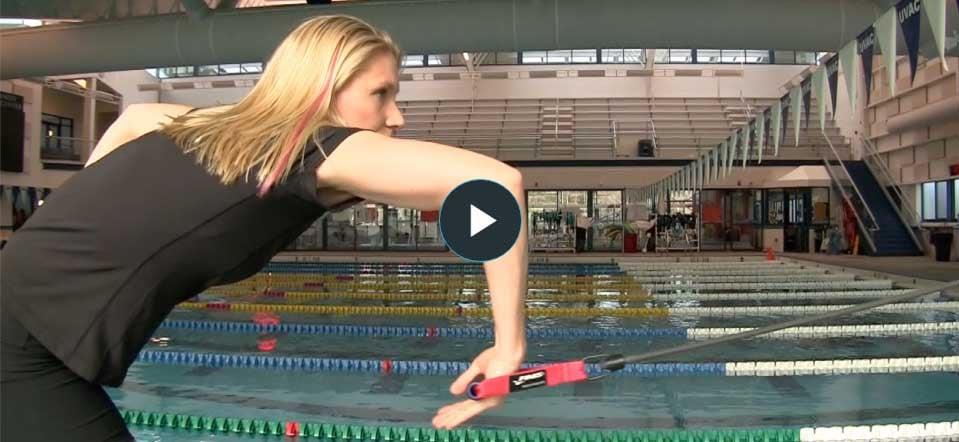 esercizi con elastici per nuotatori