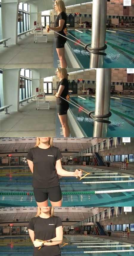 nuoto elastici a secco