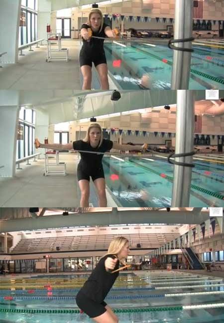 esercizio farfalla elastici