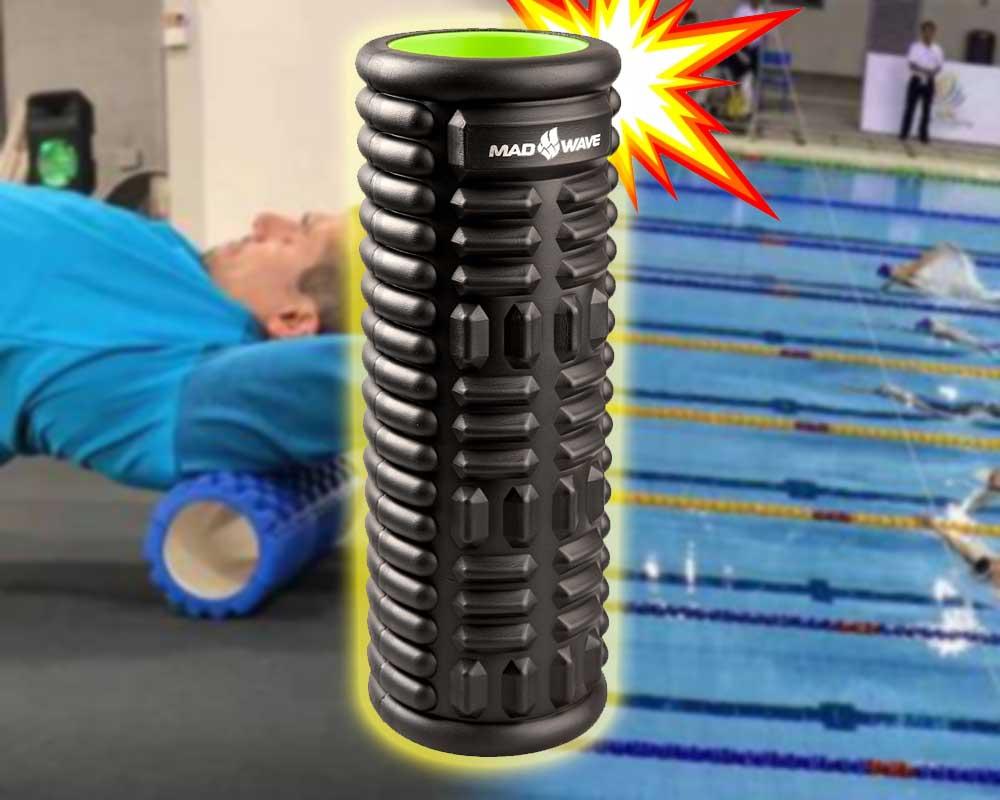 rullo massaggiatore nuoto foam roller