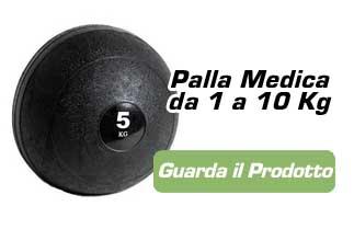 palla medica allenamento nuotatori