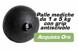 palla medica per allenamento dei nuotatori