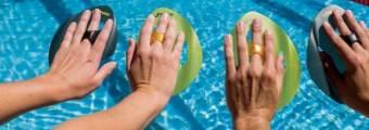 Allenamento con palette ISO per nuotatori di ogni livello!