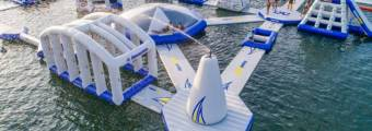 Piattaforme gonfiabili Aquaglide: divertimento e sicurezza