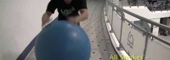 Esercizio - tutti gli stili con palla fisio